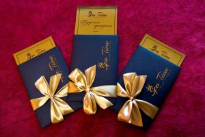 Три подарочных сертификата в Спа салон в Кривом Роге